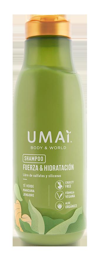 Umai Shampoo Té Verde - Manzana - Jengibre