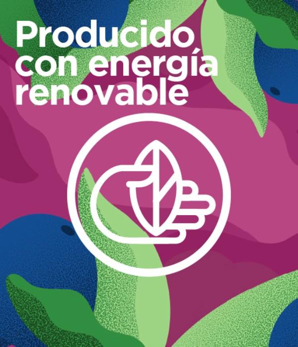 Con energía renovable